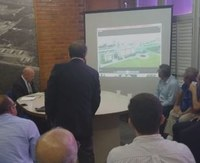 Em 20 de março de 2019, o Prof. Antônio Villar e Tarciso Cabral (Diretor e Vice do Centro de Tecnologia) receberam Pesquisadores da UFPB, empresas e a CINEP-Companhia de Desenvolvimento da Paraíba para uma reunião de prospecção de potenciais interações entre os Centros da UFPB em vistas às demandas atreladas ao projeto, construção e implementação do Estaleiro de Reparos do Litoral Norte da Paraíba.